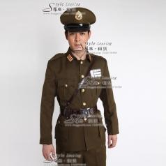 出租男士军队制服 租赁舞台演出服装