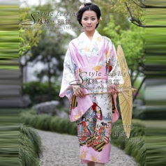日本影视服装  和服女士演出服装