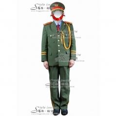出租军旅舞蹈演出服装  租赁军队礼服表演服