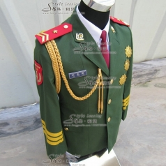 出租男士军队表演服装  租赁海军仪仗队演出服装