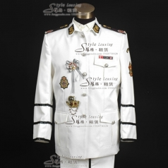 男士军队制服 仪仗队演出服装