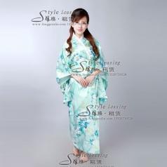 日本表演服装 女士和服演出服