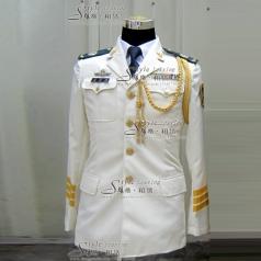 男士仪仗队演出服装 军队制服演出服