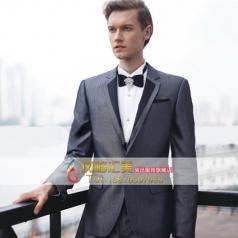新款商务西服套装 男士主持人礼服
