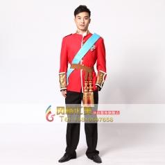 国外宫廷服装将军演出服装  影视服装