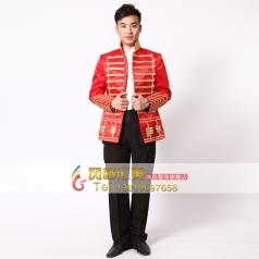 皇室男士演出服装 宫廷表演服装