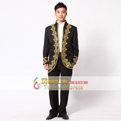 国外男士宫廷服装爵士服装  舞台表演服装