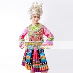 苗族演出服 民族演出服少数民族舞蹈