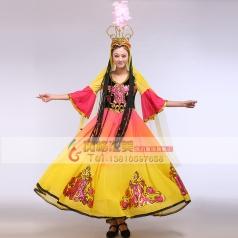 出租新款新疆舞台服装  舞蹈服装 民族演出服