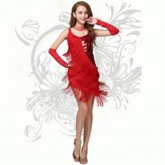 拉丁舞流苏服装 交谊舞服装 舞蹈服装 国标舞舞蹈服装租赁