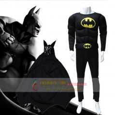 风格汇美蝙蝠侠cosplay表演服装演出服饰
