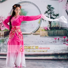 风格汇美古装演出服装定制古装设计舞台服表演服