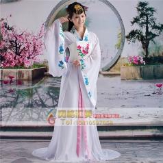 风格汇美古装表演服定做古装女士服装唐朝服装定做演出服饰