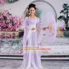 风格汇美古代服装定制古装表演服 舞台服装 演出服饰