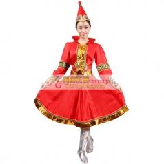 风格汇美蒙古舞蹈演出服少数民族舞蹈服装 年会舞台演出服表演服