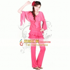 风格汇美演出服饰广场舞演出服套装定制 舞台服装