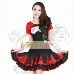 风格汇美广场舞舞台套装 裙装 舞台服装演出服饰