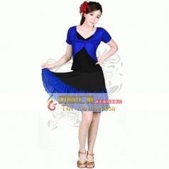 风格汇美广场舞演出服定制裙装 舞台服装演出服饰
