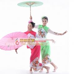 秧歌服装演出服 女装 古典舞扇子舞 开场舞广场舞民族舞蹈定做