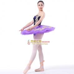 新款成人紫色系芭蕾舞舞台服装定做_风格汇美演出服饰