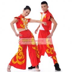 秧歌服装演出服  古典舞 开场舞 民族舞蹈定做