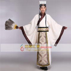 风格汇美新款古代服装男士古装汉服影视古装汉服演出服