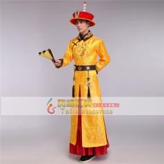 风格汇美新款古代影视演出服装 演出皇帝服装 年会演出古装男