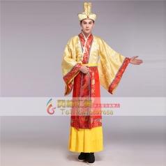 风格汇美汉朝皇帝服装影视古装演出服影楼主题服装 古代服装唐装