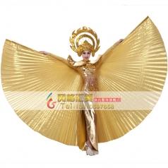 北京新款大摆裙舞蹈服装 开场舞蹈演出服舞台服定制