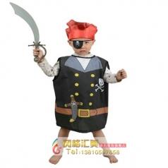 五娃争福儿童节游戏舞会服装海盗服海盗刀COS服装万圣节服装表演