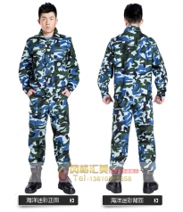 特种兵丛林迷彩作训服军装军训服工作服定做_风格汇美演出服饰