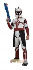 Cosplay星球大战指挥官福克斯男儿童万圣节服装