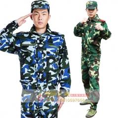 特种兵陆军海洋军训服军装军训服工作服定做_风格汇美演出服饰