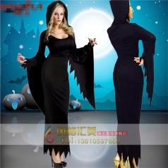 万圣节服装cosplay扮演 女巫婆服装化妆舞会服装角色扮演舞台派对
