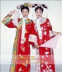 古装格格服装,还珠格格演出服,满族清朝宫女服饰_风格汇美演出服装