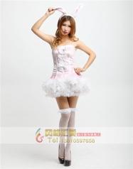 COSPLAY礼物性感服装情趣服装演出服饰 粉红兔女郎