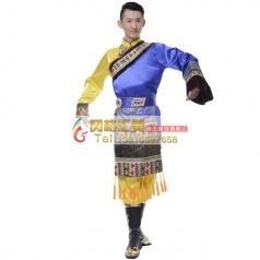 藏族舞蹈演出服装专业定制_风格汇美演出服饰