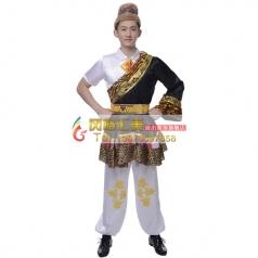 新款藏族舞蹈服装专业定制_风格汇美演出服饰