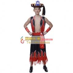 北京彝族舞蹈服装专业定制_风格汇美演出服饰