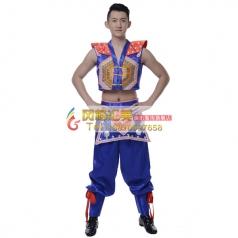 彝族舞蹈服装专业定制_风格汇美演出服饰