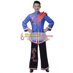 彝族舞蹈演出服装专业定制_风格汇美演出服饰