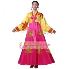 鲜族舞蹈服装专业定制_风格汇美演出服饰