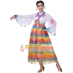 鲜族舞蹈服装工厂专业定制演出服装_风格汇美演出服饰