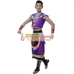 制作彝族族服装大全专业演出服装批发工厂_风格汇美演出服饰