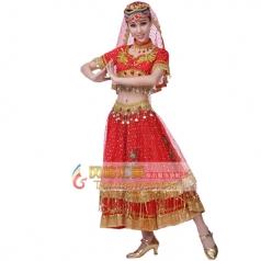 新疆舞蹈演出服装专业定制_风格汇美演出服饰