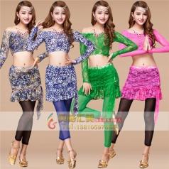 新款肚皮舞蹈服装专业定制_风格汇美演出服饰
