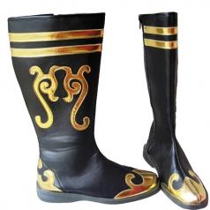 藏族舞蹈靴套 蒙古舞蹈鞋 女士民族舞蹈演出靴子高弹力靴套 鞋子