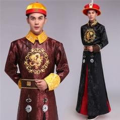 风格汇美清朝阿哥服装古代宫廷四阿哥演出服亲王服装贝勒爷王爷服