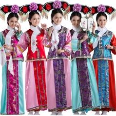 风格汇美女士古装演出服装古代服装定制演出服饰