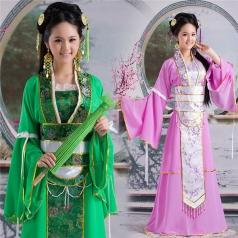 风格汇美古装演出服装定制舞台服定制设计演出服饰